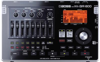 BOSS BR-800 портастудия гитариста