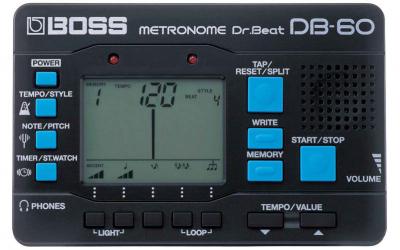 BOSS DB-60 метроном