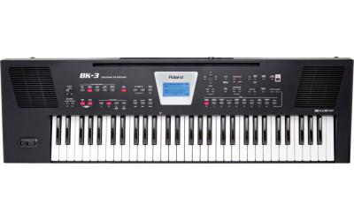Roland BK-3-BK синтезатор с автоаккомпаниментом