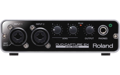 Roland DUO-CAPTURE EX (UA-22) USB аудио интерфейс для звукозаписи
